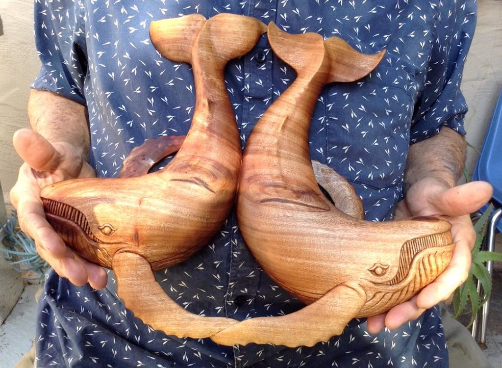 The Even Couple (Whale Carving)