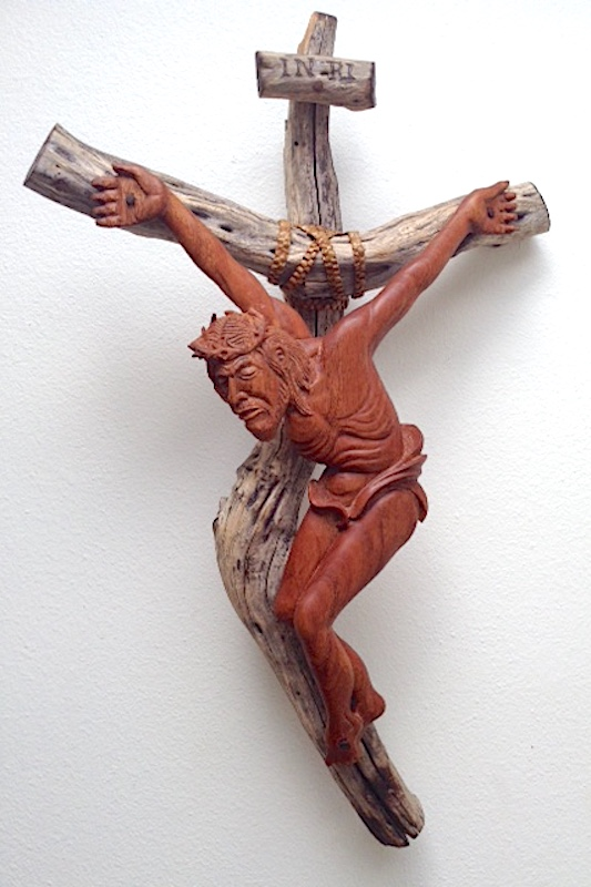 Religious Figures - Hand Carved Christ by Richard Morgan Howell